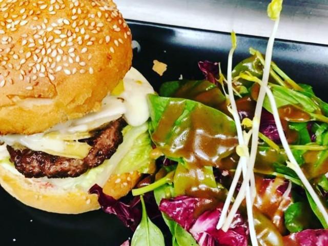 Cucina Eat burger maison boeuf