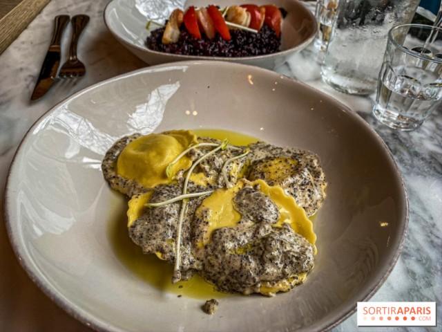 Cucina Eat ravioli à la crème de truffe