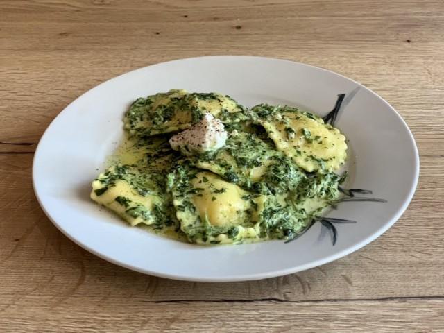 Cucina Eat ravioli ricotta épinard